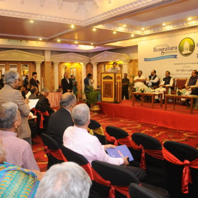 The interactive session saw the presence of members of the media, Resident Welfare Associations and other activists.