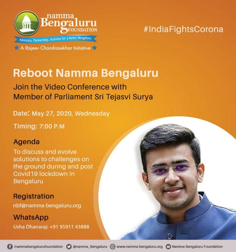 Covid-19 lockdown- Video Conference with Sri Tejasvi Surya