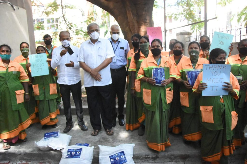 Distribution drive on completion of Prime Minister Modi led Government's 2nd Year of 2nd Term in office 3