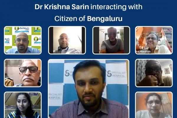 Webinar-Bengaluru Fights Corona Protecting Citizens of Bengaluru Episode 5-COVID & Heart