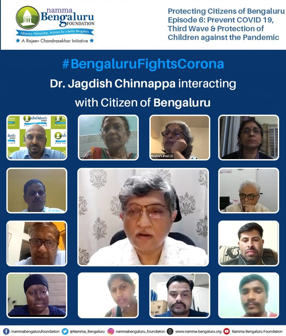 Webinar-Bengaluru Fights Corona Protecting Citizens of Bengaluru Episode 6-Protection of Children against the Pandemic